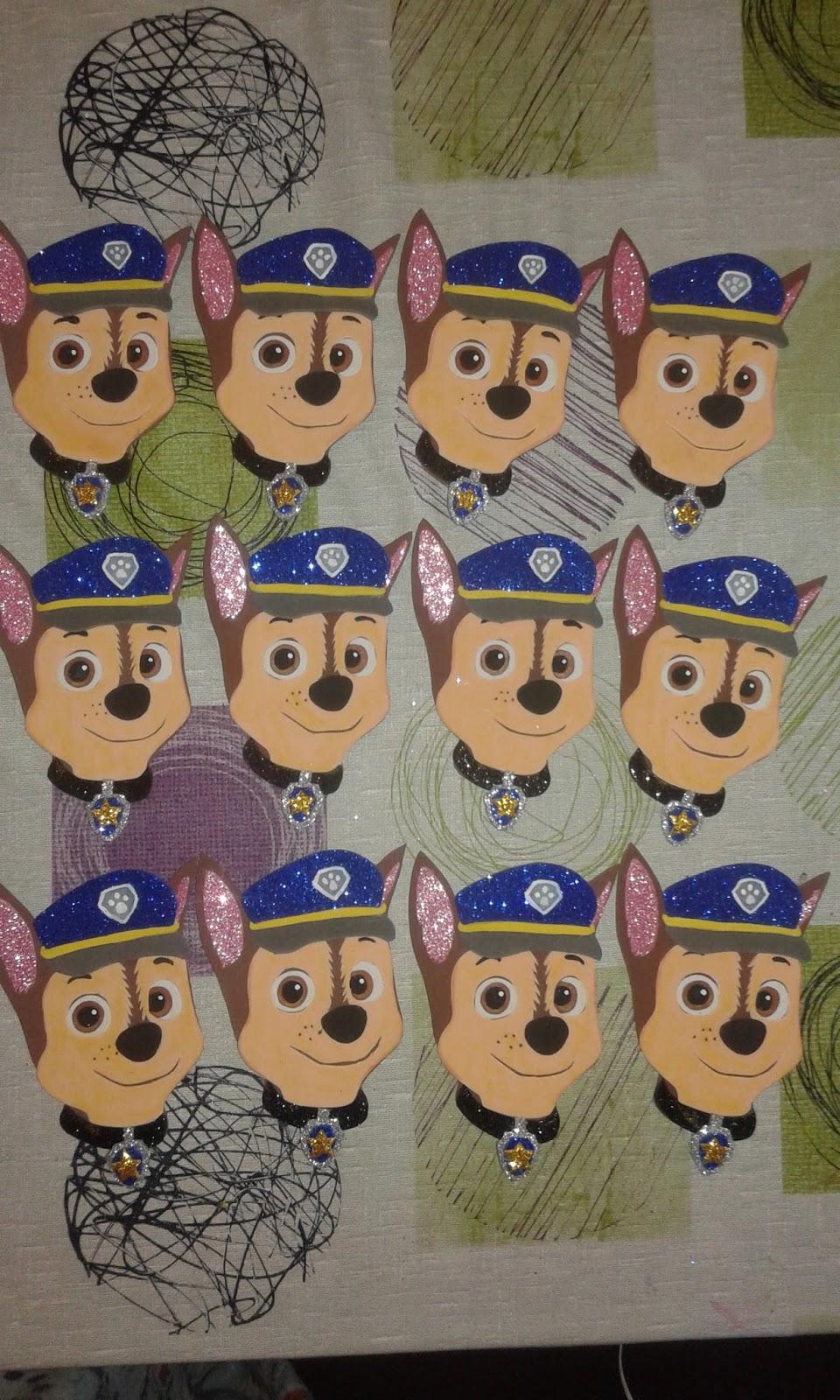 Manualidades sthella patrulla canina - Manualidades patrulla canina ...