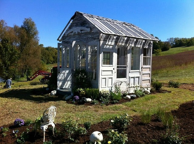 Sweet Vintage Of Mine Garden House Greenhouse She Shed