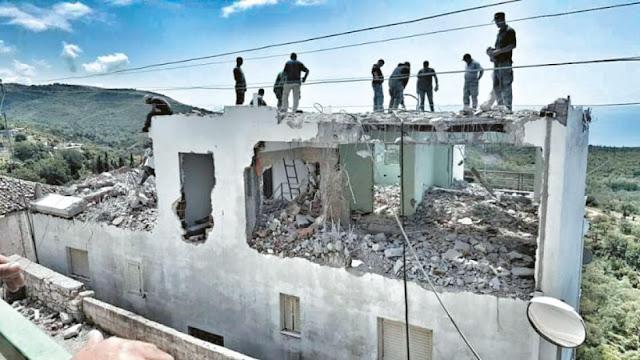 Συνεχίζεται η κατεδάφιση ακινήτων της ελληνικής μειονότητας στην Αλβανία