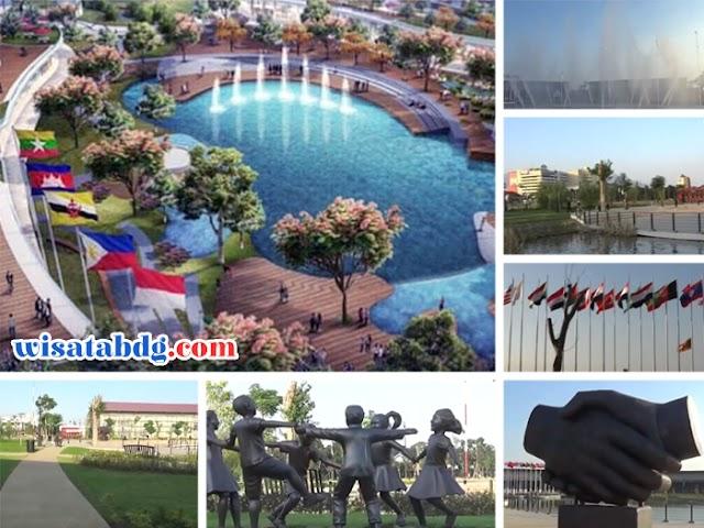 Taman Asia Afrika, Destinasi Wisata Ruang Publik Baru di Kiaracondong Bandung