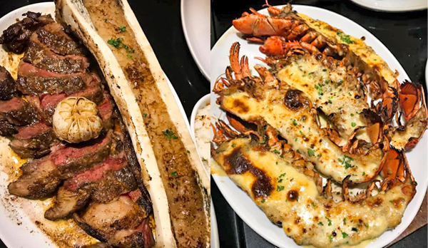 Bacolod restaurants -Bacolod blogger - list of Bacolod restaurants - Where to eat in Bacolod - Steak -prawn thermidore - french cuisine - Terrasse Bistro