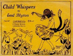 """sampul """"Child Whispers"""" karya Enid Blyton, unsur buku puisi anak"""