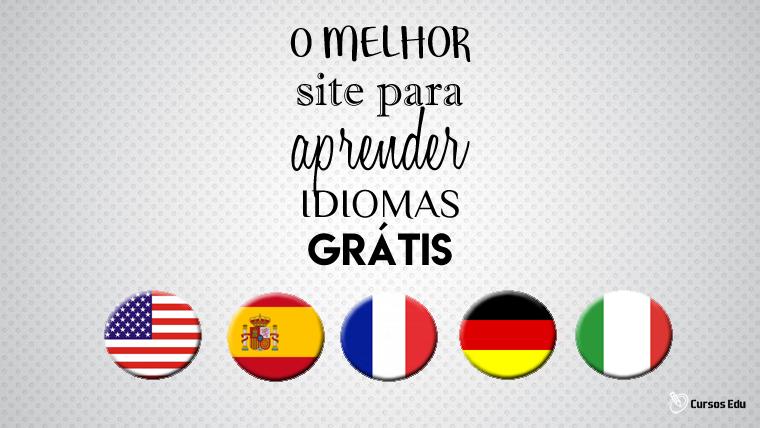 O melhor site para aprender idiomas gratuitamente