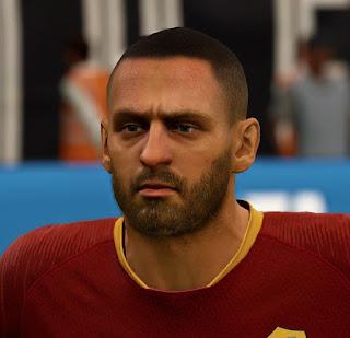 FIFA 19 Faces Daniele De Rossi by APasZ