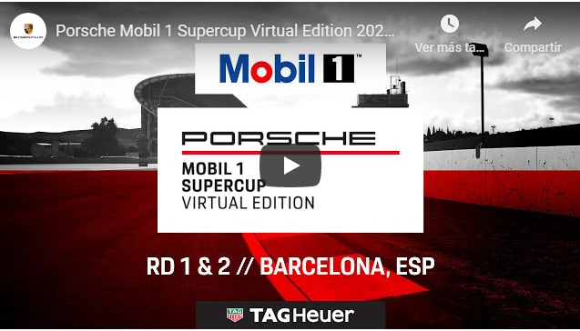 Porsche SuperCup 2020: Virtual Edition - Barcelona - Round 1 & 2