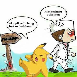 Meme Lucu Pokemon Go versi Ayo ke KUA edisi Korban Film Kartun-pikachu