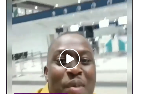 Watch Video: Coded Of 4X4 Shows Great Admiration For New Terminal Of Accra Airport