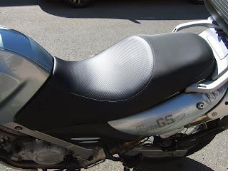 Asiento BMW GS con gel
