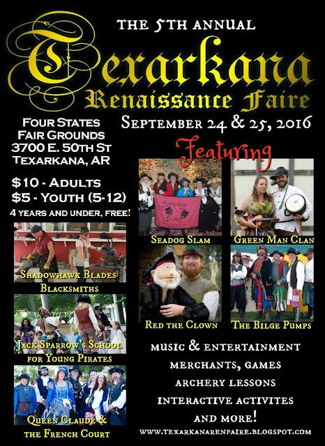 5th Annual Texarkana Renaissance Faire