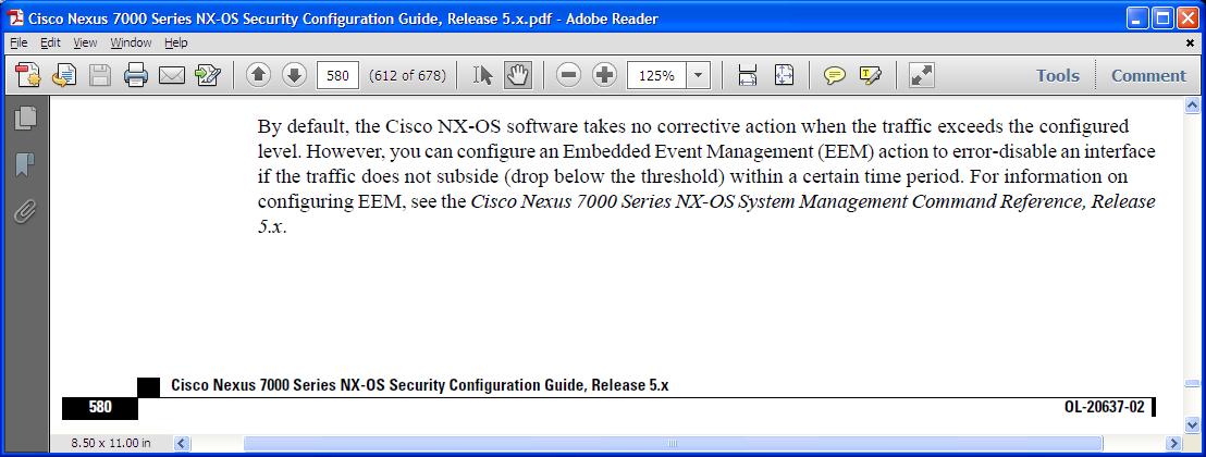 itcertnotes -: Nexus 7000 Storm Control using EEM