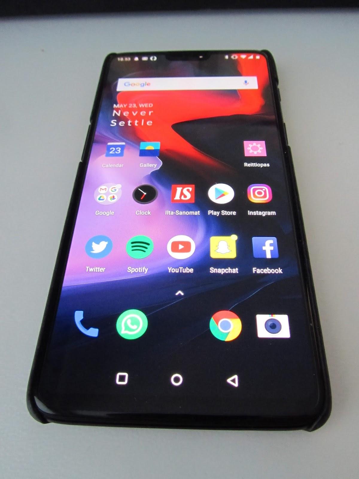 OnePlus 6T (Mirror Black, 8GB RAM, 128GB storage