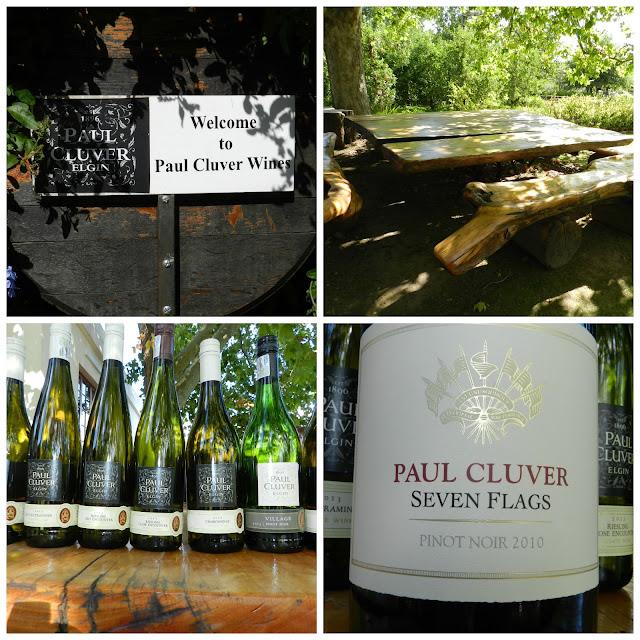 Degustação de vinho na vinícola Paul Cluver (Elgin Valley), África do Sul