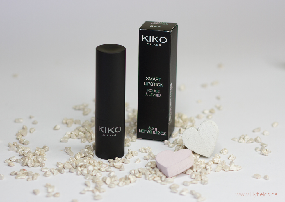 Foto zeigt Kiko Smart Lipstick 927 Intense Rose