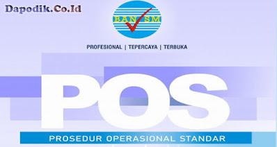 Prosedur Operasional Standar (POS) Akreditasi Sekolah