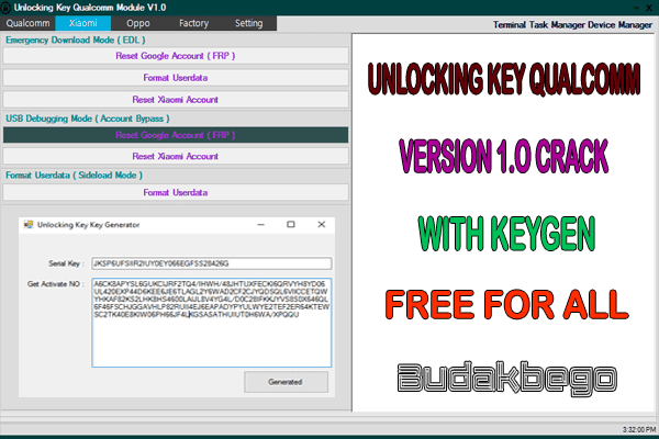 Unlocking Key Qualcomm Module 1.0 Crack With Keygen