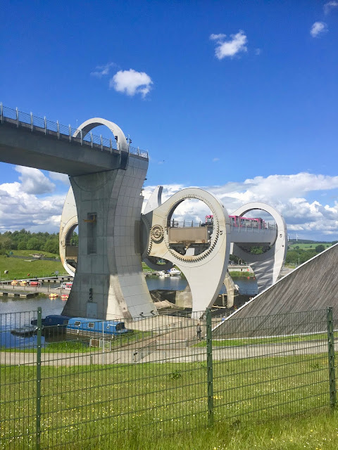 Falkirk Wheel, Scotland