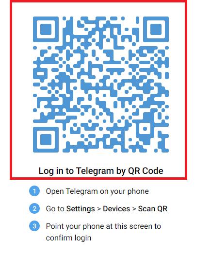 Cách 1: Đăng nhập bằng mã QR a