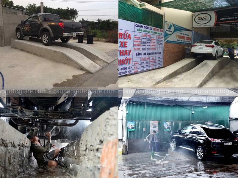 cầu rửa xe bê tông, cầu bê tông rửa xe, cầu rửa xe bê tông giá rẻ, xây cầu bê tông rửa xe, xây cầu rửa xe bê tông