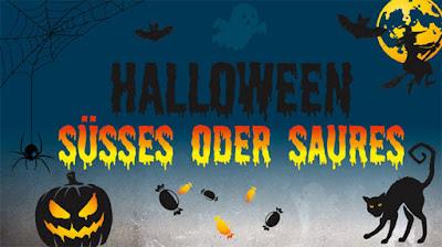 Halloween Süßes oder Sauers