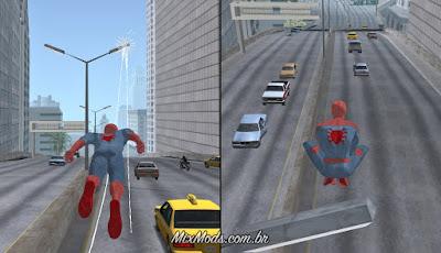 gta sa san andreas spider-man ps4 mod j16d