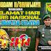 Pangdam II/Sriwijaya Sampaikan Ucapan Hari Pers Nasional.