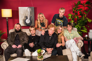 Eddie Money With his 5 Kids