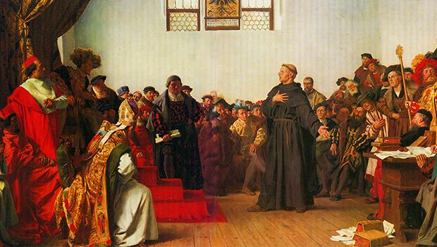 18/04/1521: Martin Luther ra trình diện trước Hội đồng Worms