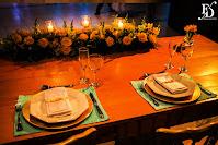 casamento em porto alegre com cerimônia na igreja são joão bastista e recepção no salão magnólia do di basi casa de eventos com decoração simples rústica em azul tiffany e amarelo porto fernanda dutra cerimonialista em porto alegre