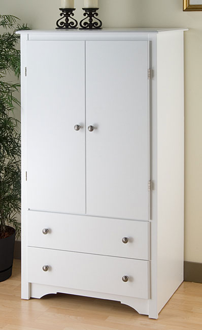 White Wardrobe Cabinets for the Bedroom 7