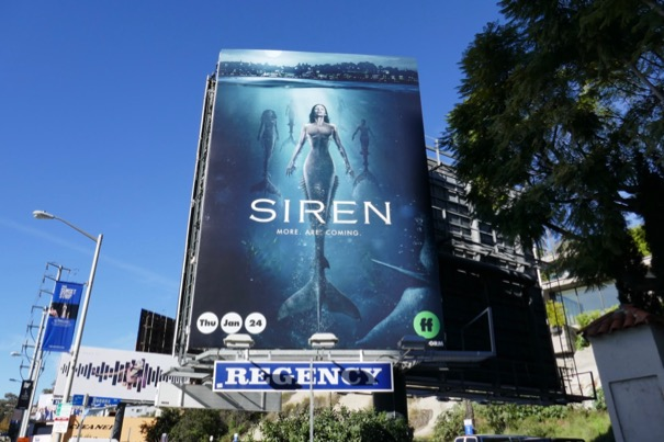 Siren season 2 mermaids billboard