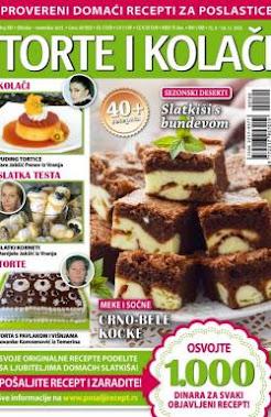 Torte i kolači - aktuelno izdanje:)
