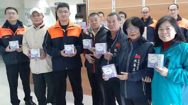 員林市民代表聯合捐贈住警器 助弱勢戶居家安全