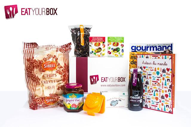 Concours (2) pour les trois ans d'Emilie Sweetness - en partenariat avec Eat Your Box