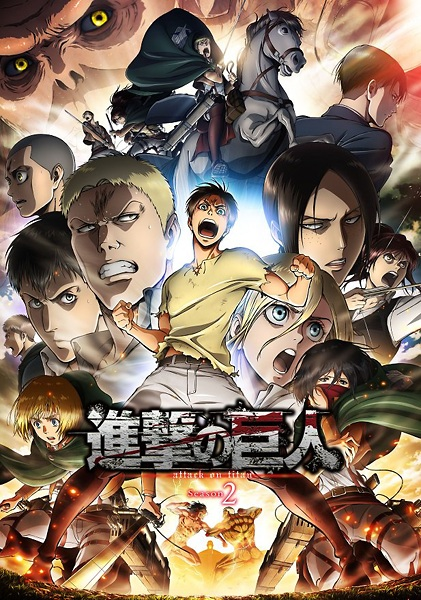 Episode Shingeki no Kyojin Season 2