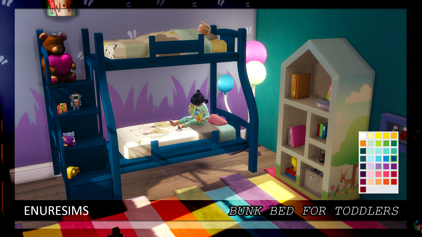 Bunk Bed For Toddlers Enure Sims