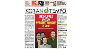 Persiapan Hadapi Prabowo Dipilpres 2019, Jokowi Masukkan Dua Jenderal Di Kabinetnya