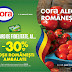 cora alege romaneste - 30%  la rosii ambalate romanesti