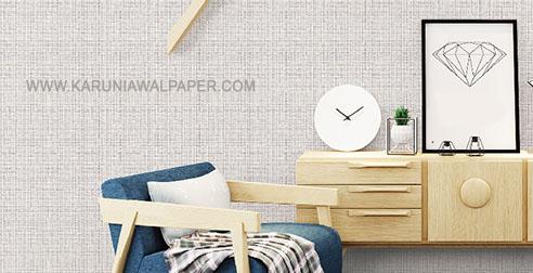 dinding wallpaper warna netral kamar kecil terlihat besar