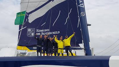 La Rolex Fastnet Race pour le maxi Edmond de Rothschild