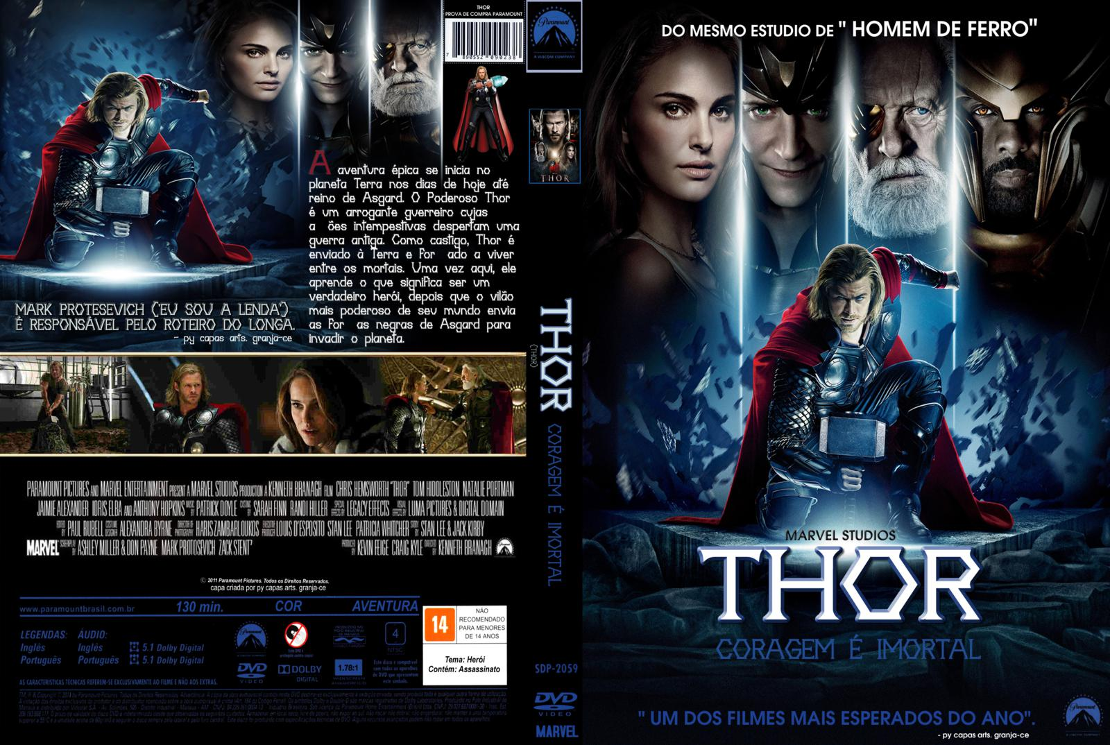 capa filme dvd thor gamecover capas customizadas para. Black Bedroom Furniture Sets. Home Design Ideas