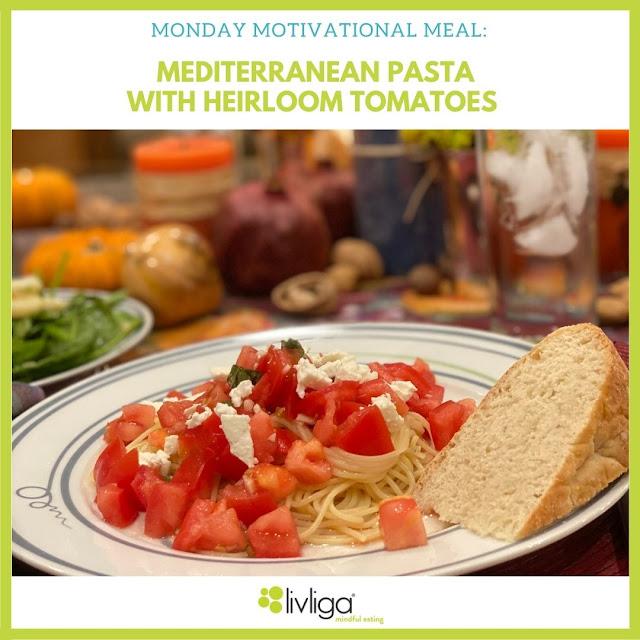 Mediterranean Pasta with Hierloom Tomatoes