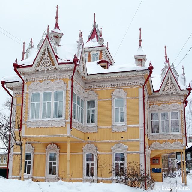 дом с жар птицами томск