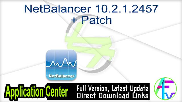 NetBalancer 10.2.1.2457 + Patch