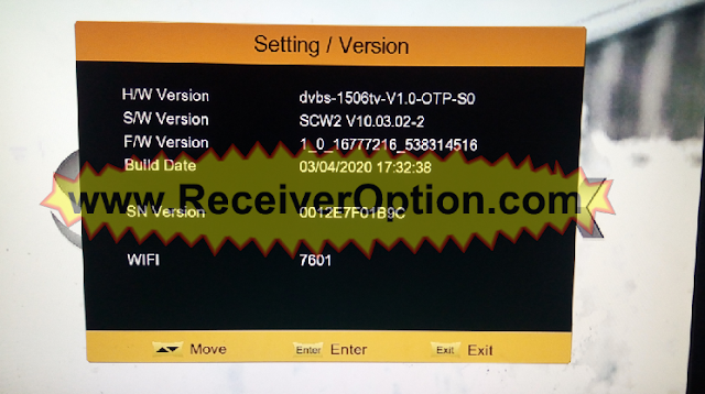 1506TV 512 4M SCW2 SUPERMAX GOLD SMX1 NEW SOFTWARE WITH ECAST OPTION