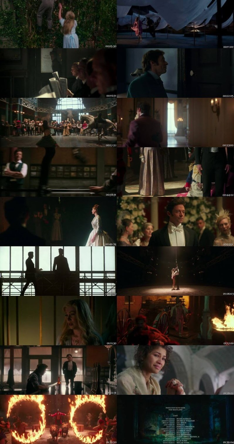 The Greatest Showman 2017 English 480p BluRay 300Mb ESubs