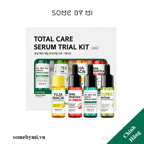 Some By Mi Total Care SerumTrial Kit-Edition 14mlx4