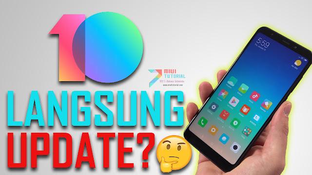 Jika Nanti Rom Xiaomi Miui 10 Versi Global Stabil Bahasa Indonesia Sudah Ada: Apakah Boleh Langsung Update?