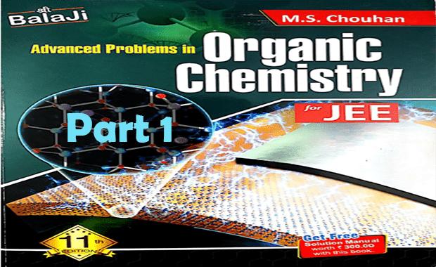 Balaji Advanced Problems in Organic Chemistry Part I