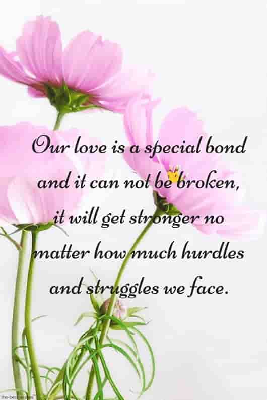 special love quote for him