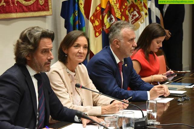 Gobierno de Canarias y Ministerio de Turismo explican a los cabildos, partidos políticos y agentes sociales las medidas del plan de choque por la quiebra de Thomas Cook